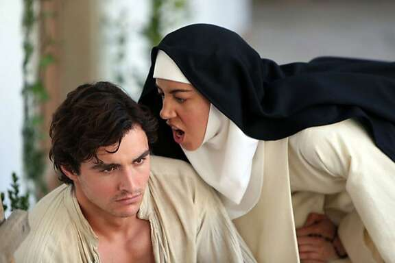 """Dave Franco and Aubrey Plaza in """"The Little Hours"""""""