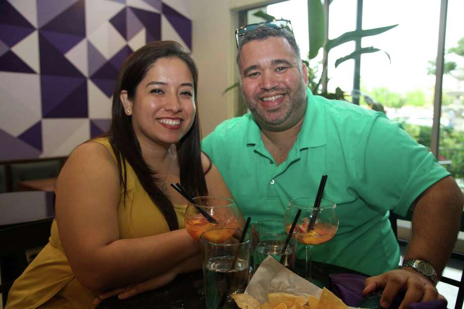 Elizabeth Vasquez and Jose Lazala are at El Marisol at Alon. Photo: Xelina Flores /For The Express-News