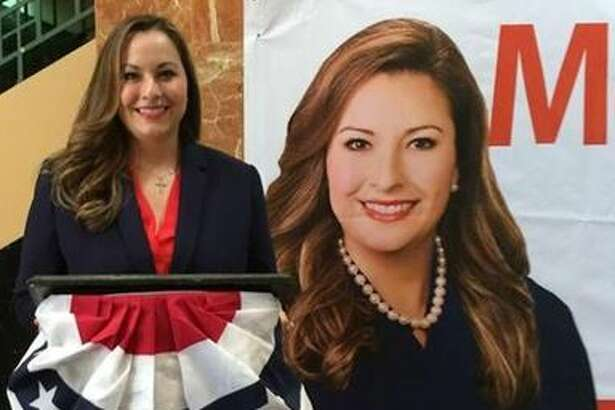 Melissa Joy Garcia announced her candidacy for Court at Law II judge Wednesday at the rotunda inside the Webb County Justice Center.