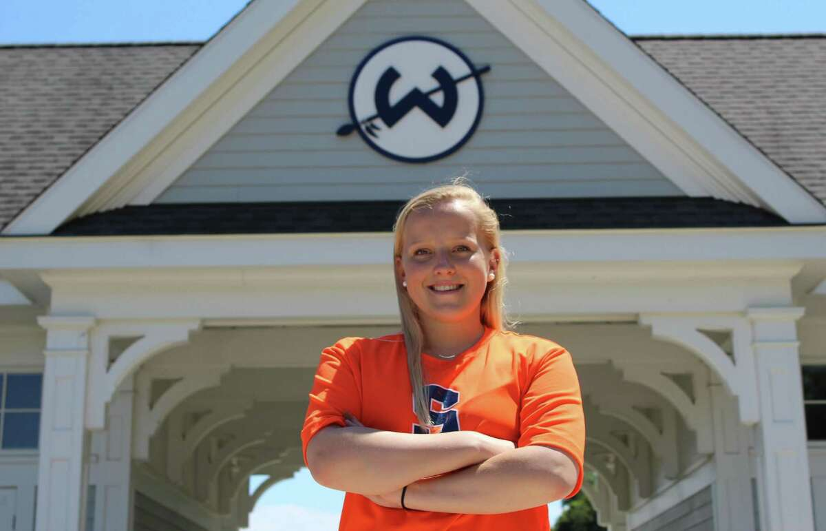 Wilton High School junior Emma Likly is headed to Syracuse in the fall of 2018 to play field hockey.