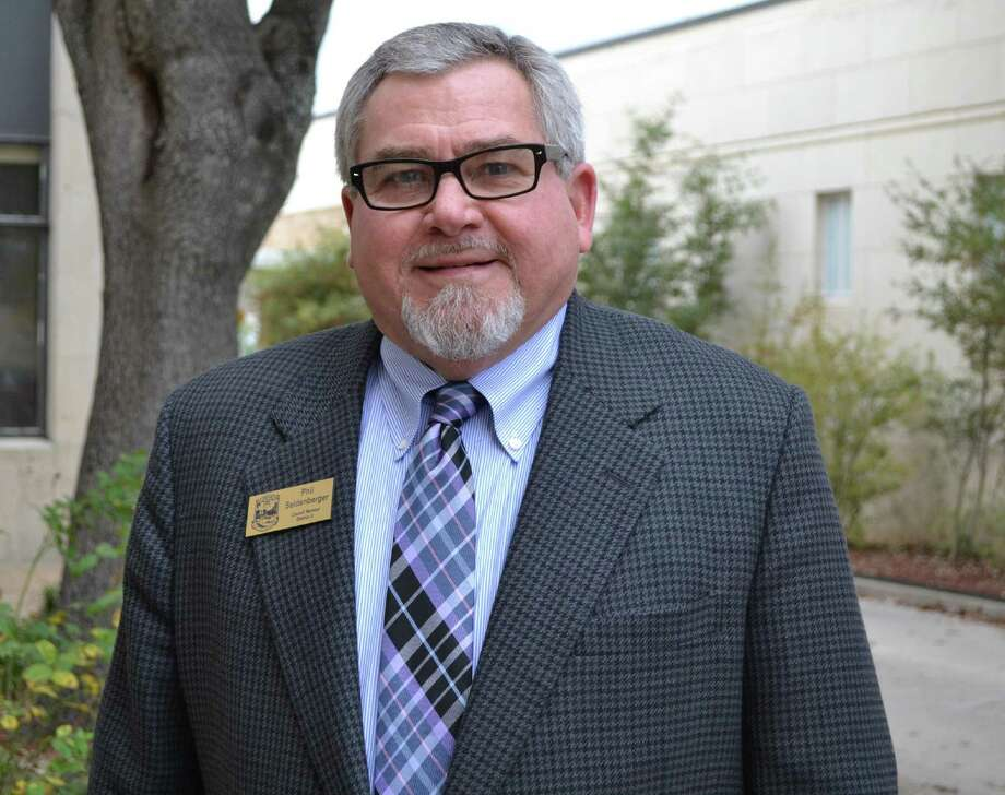 Phil Seidenberger, former District 3 City Council member, Seguin, Texas.