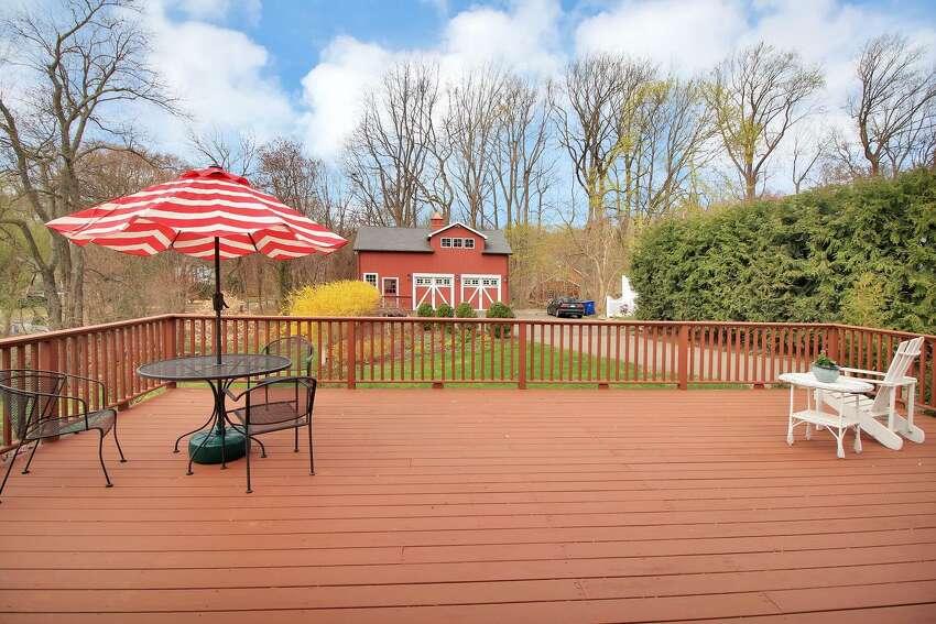 2. Scrub the deck