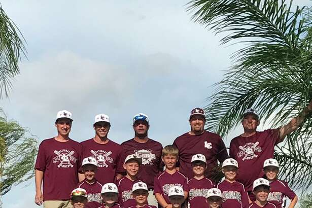 The League City National 8-and-under all-star team recently won the District 14 baseball championship.