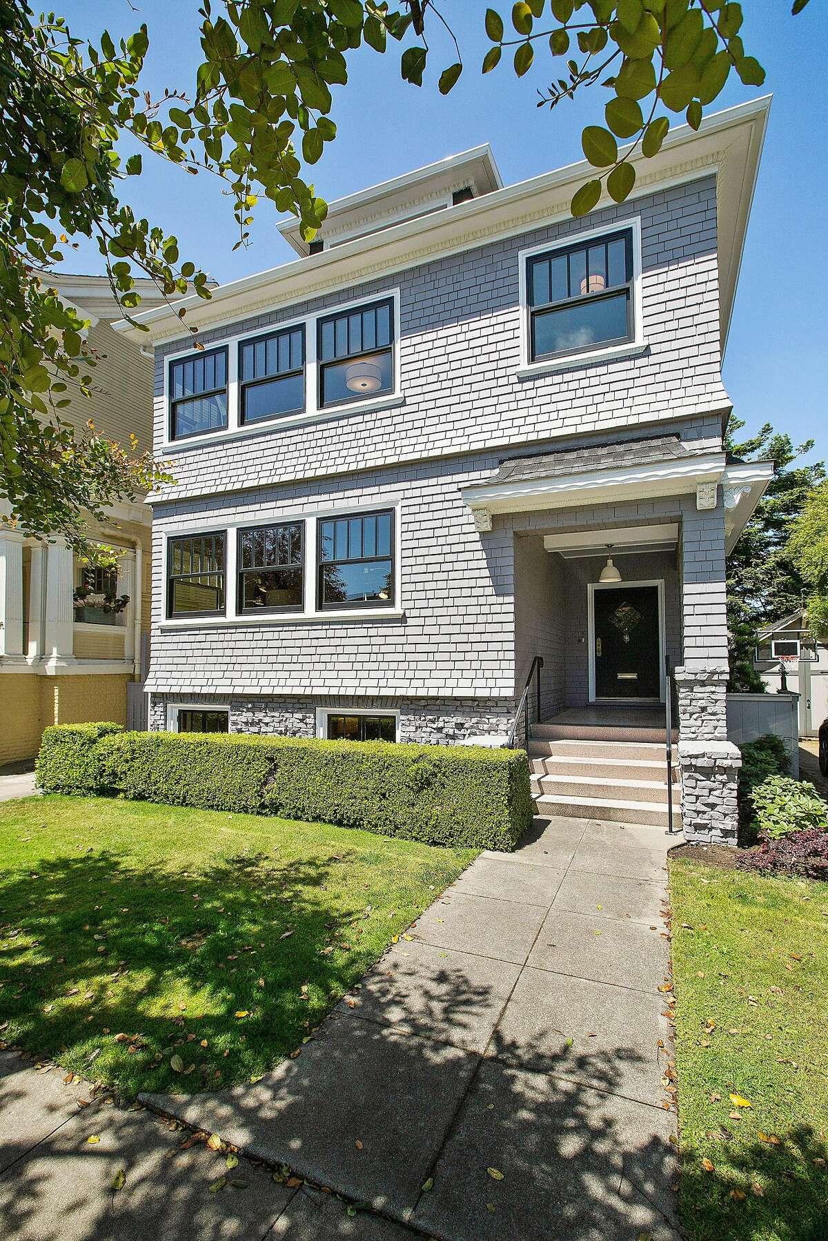 115 Jordan Ave. is four bedroom Edwardian in Jordan Park available for $2.85 million.