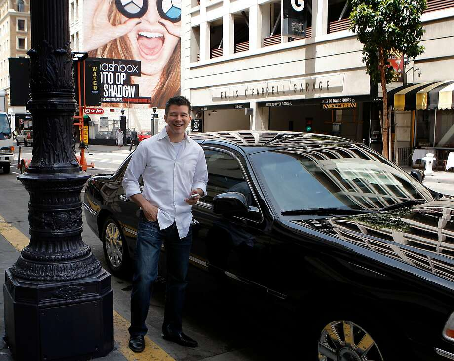 In 2012, Uber CEO Travis Kalanick was happy to get attention for his company. In 2017, as he was ousted, he has learned a hard lesson: Staying private is not a shield from scrutiny. Photo: Siana Hristova, The Chronicle