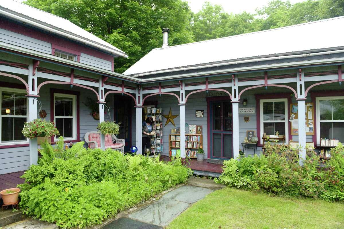 A view of the outside of Down in Denver Books on Tuesday, June 6, 2017, in Stephentown, N.Y. (Paul Buckowski / Times Union)
