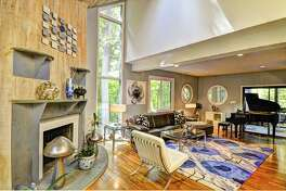A contemporary home deep in the woods on Haviland Court in North Stamford, Conn. which was only on the market for about a week before it was snatched up by a new buyer, served as a sanctuary for Tina and Brent Bellinger for the past five years.