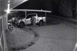 Jefferson County Sheriff's Office released images taken early-morning car burglaries.