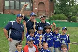 The Rowayton Little League William Pitt Sotheby Sluggers won a thrilling 16-15 game over Briggs Tire to claim the AA championship last week.