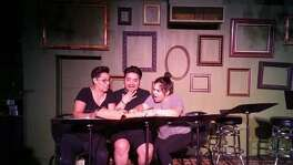 "Teatro Audaz presented a staged reading of ""Aye, No!"" — featuring, from left, Gloria Sanchez, Jaime Gonzalez and Susi Lopez — at the Bang Bang Bar last year. The company is slated to present a full production in the Cellar Theater of The Playhouse San Antonio, where it's a resident company, next year."