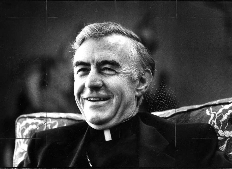 Archbishop John R. Quinn, May 17, 1983. Photo: Steve Ringman, San Francisco Chronicle