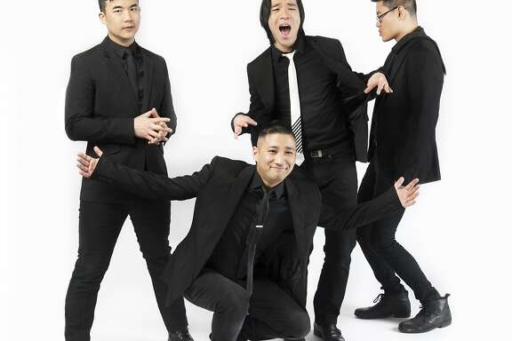 This publicity photo provided by In Music We Trust shows the Asian-American rock band called The Slants. The Supreme Court on Monday, June 19, 2017, struck down part of a law that bans offensive trademarks in a ruling that is expected to help the Washington Redskins in their legal fight over the team name. The ruling is a victory for The Slants, but the case was closely watched for the impact it would have on the separate dispute involving the Washington football team. (In Music We Trust via AP)