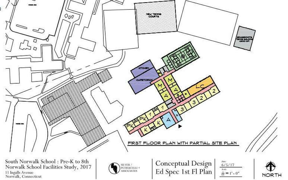 Conceptual designs for the city's new public schools. Photo: Contributed Image / Norwalk Public Schools