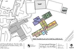 Conceptual designs for the city's new public schools.