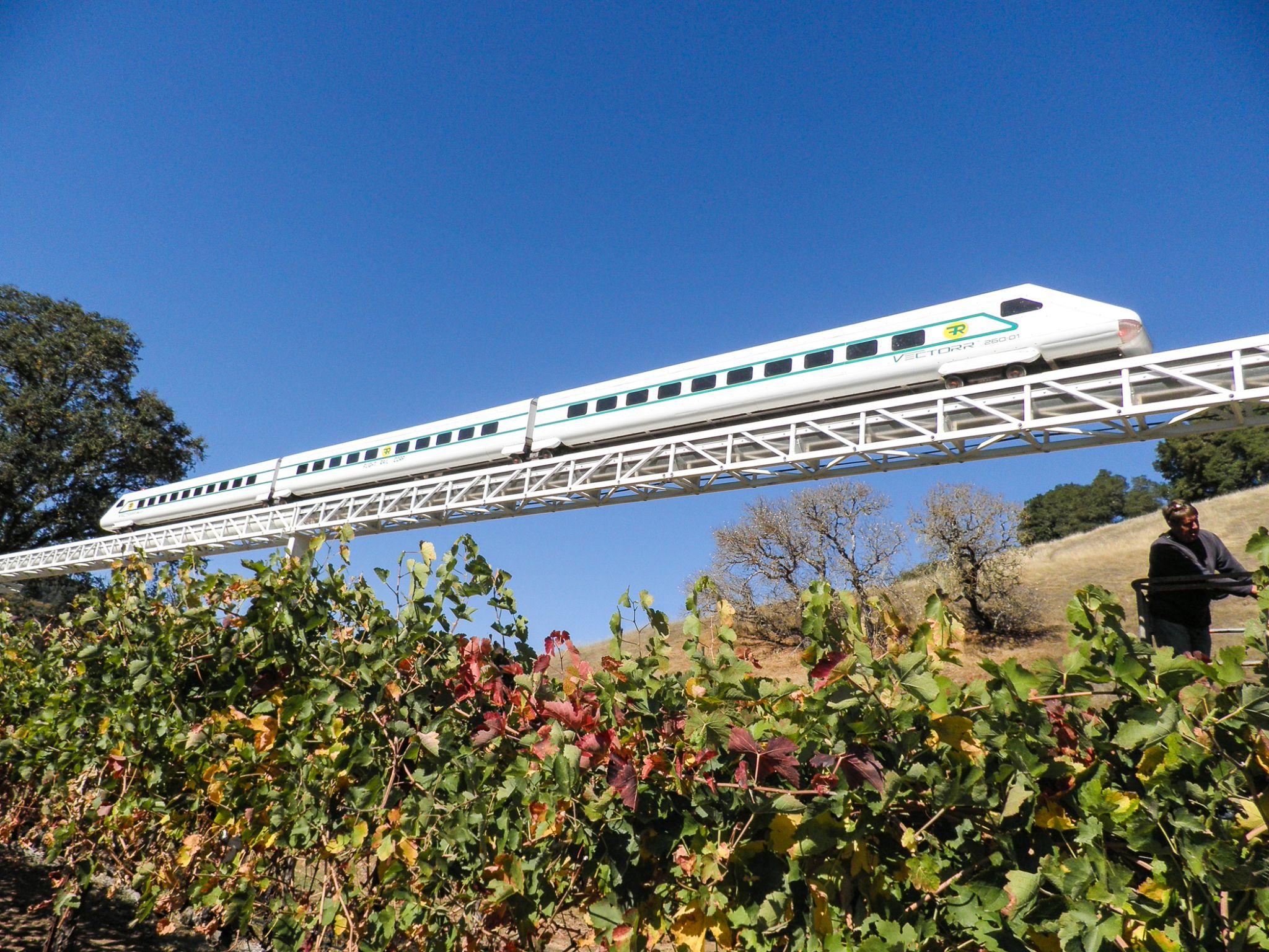 89 year old ukiah man builds hyperloop competitor in backyard sfgate