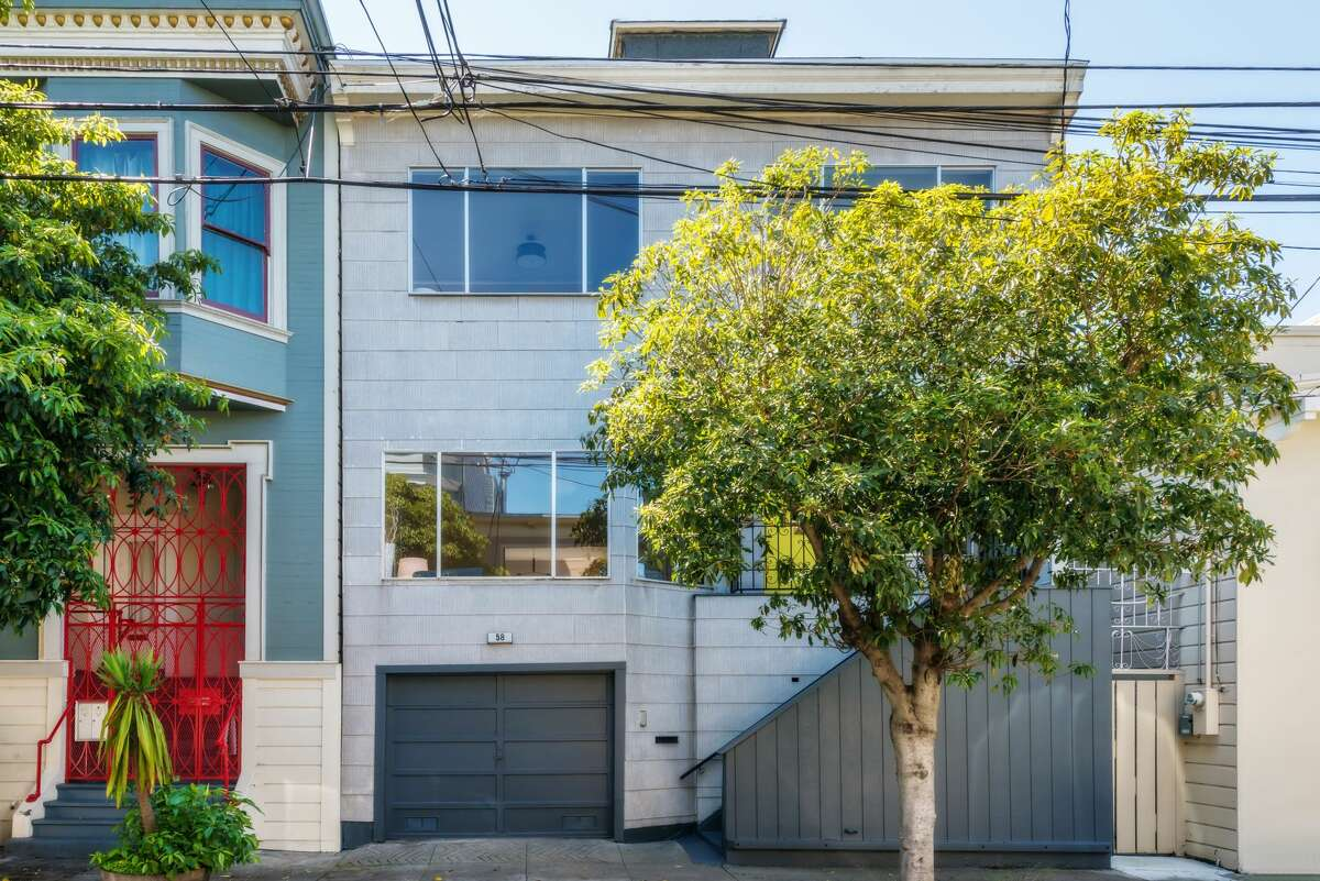 A house at 58 Lapidge sold for $2.325 million in May almost $1 million over the asking price. Bay Area homes set a new price record in that month.