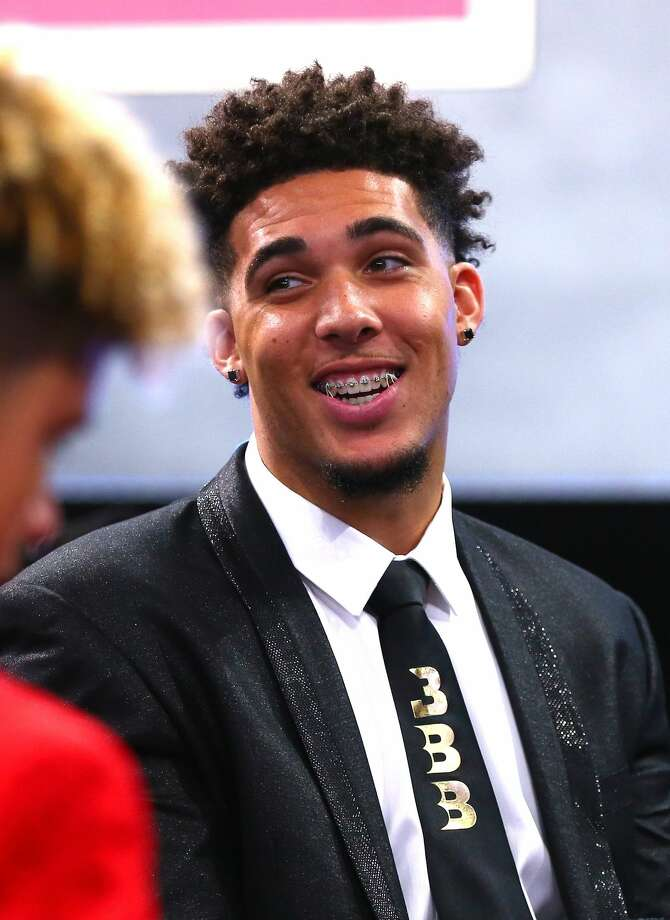 LiAngelo Ball and two other UCLA players reportedly were arrested in China on suspicion of shoplifting. (Photo by Mike Stobe/Getty Images).