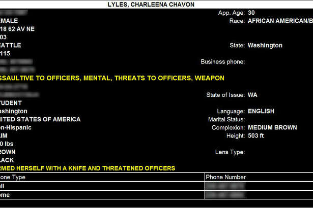 The police information on Charleena Lyles shows that she indeed had a mental health caution attached to her profile, despite responding officers saying she didn't on the dashcam recording.  Lyles had displayed possible mental health struggles during a an earlier confrontation with police at her home.