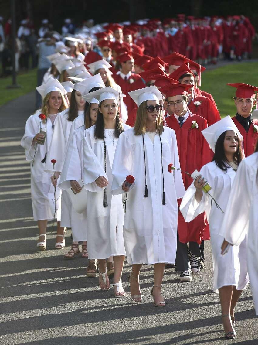 Masuk High School Class of 2017 Graduation, on Wednesday, June 21, 2017 at Masuk High School, in Monroe, Conn.