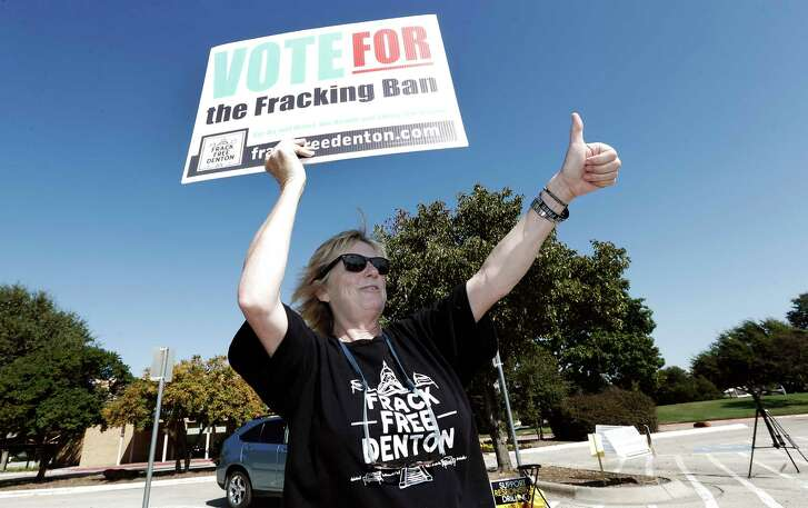 The challenge to local control in Texas started in earnest in 2015 in the city of Denton, when Gov. Greg Abbott and Republican leaders challenged a ban on fracking passed by the city council.
