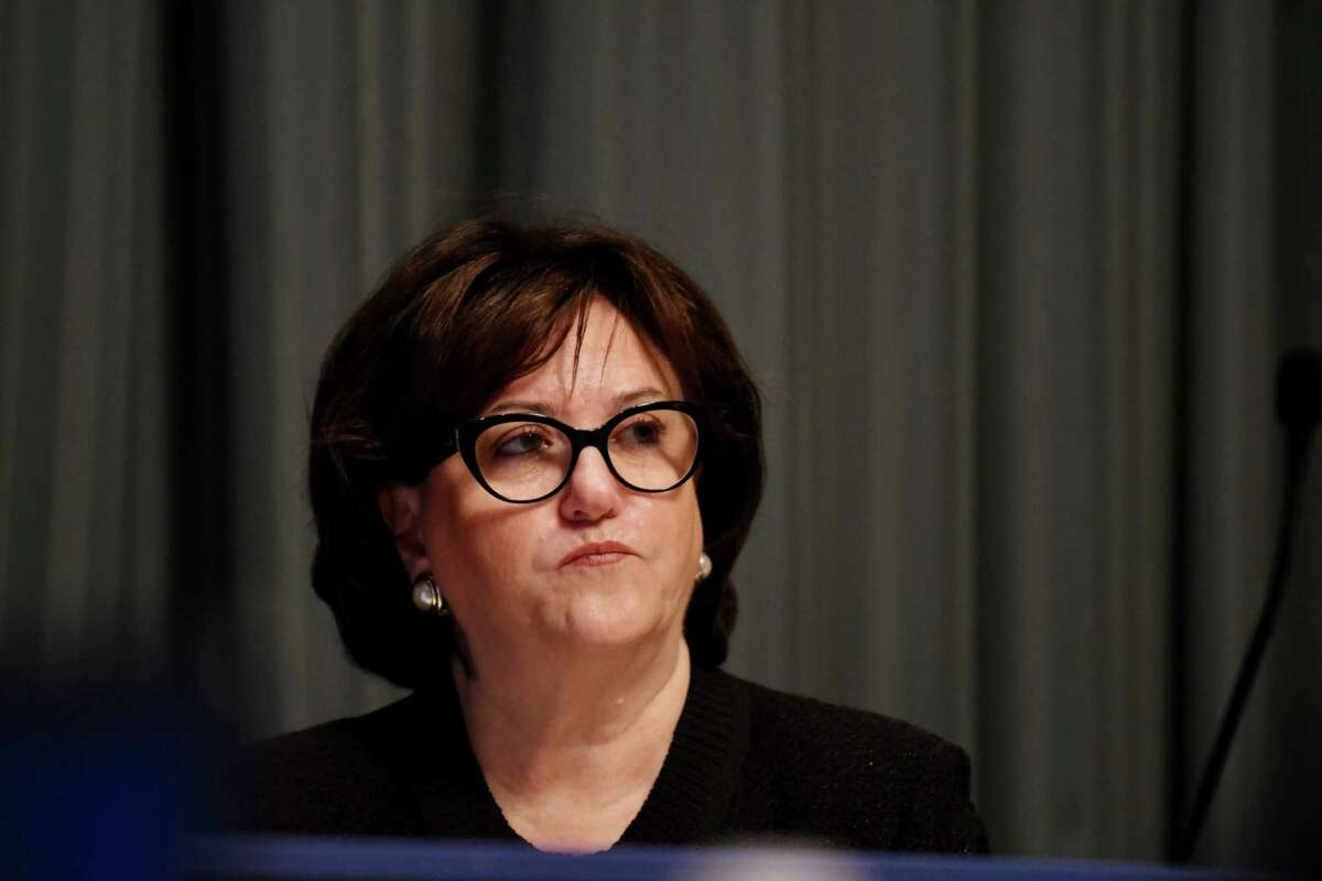 State Education Commissioner MaryEllen Elia. (Will Waldron/Times Union)