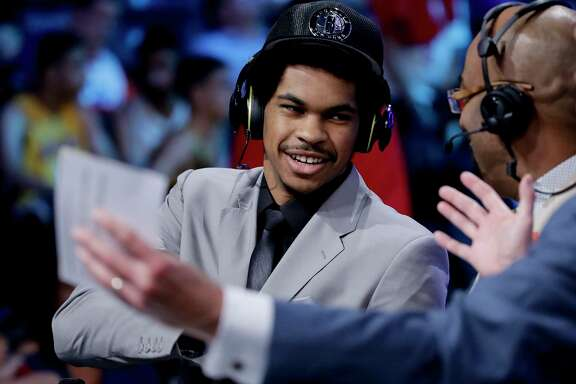 After one season with the Longhorns, center Jarrett Allen was selected with the 22nd pick by the Brooklyn Nets, who finished with the worst record in the league last season (20-62).