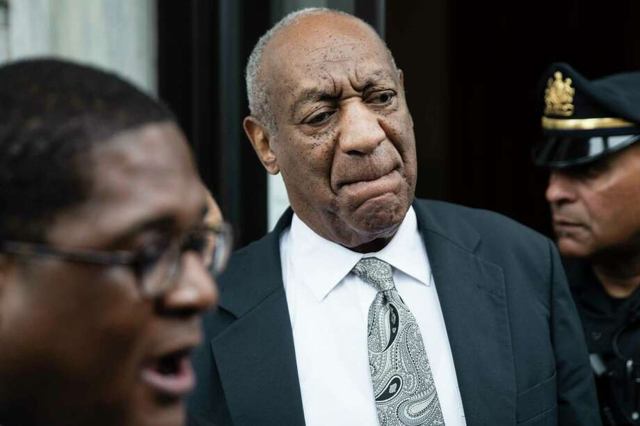 Bill Cosby after a mistrial in his sexual assault case in at the Montgomery County Courthouse in Norristown, Pa., Saturday, June 17, 2017. Cosby's trial ended without a verdict after jurors failed to reach a unanimous decision. (AP Photo/Matt Rourke) Photo: Matt Rourke / Copyright 2017 The Associated Press. All rights reserved.