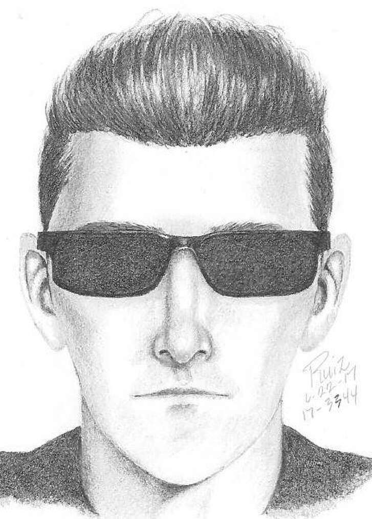 Police in Palo Alto released Thursday this sketch of a man who allegedly exposed himself to two girls.