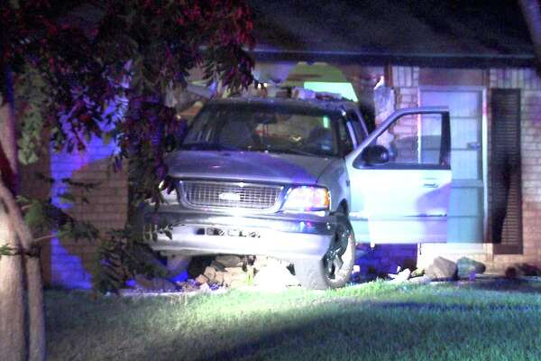 Police and paramedics responded to the scene around 3:50 a.m. on June 23, 2017, in the 10400 block of Aristocrat Street, where they found a Ford pickup truck halfway inside a home.