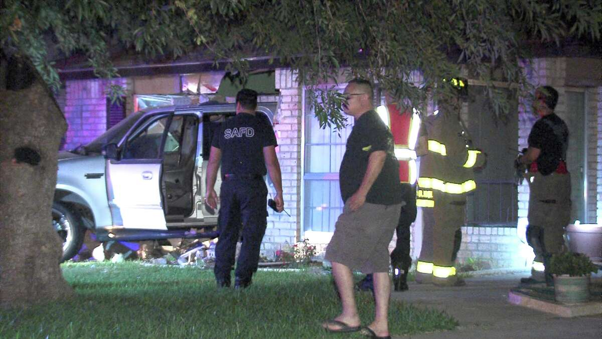 Police and paramedics responded to the scene around 3:50 a.m. on June 23, 2017, in the 10400 block of Aristocrat Street, where they found a Ford SUV halfway inside a home.