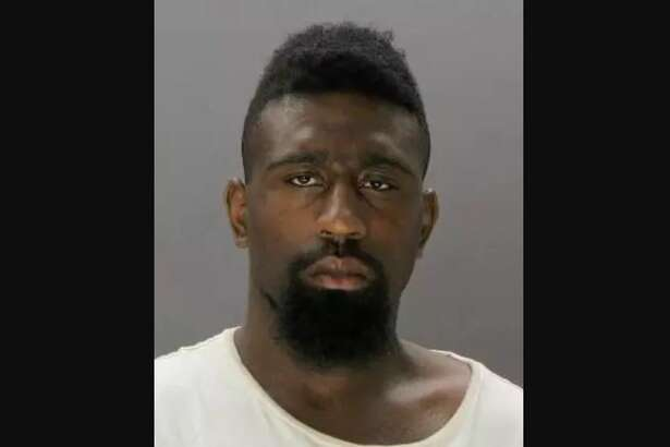 Demarcus Ge Nard Gillespie, 22, is accused of threatening his sister with a butcher knife.