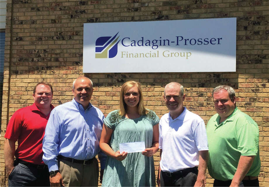 Cadagin-Prosser Financial Group, Inc. announced Morgan Colbert as the recipient of the financial firm's 2017 College Scholarship Award. Photo: For The Intelligencer