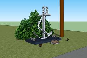 David Randall, of Boy Scout Troop 113 in Tomball, is working on his Eagle Scout Project and is building a monument, shown in the rendering above, at the Tomball VFW to honor all U.S. Navy veterans.