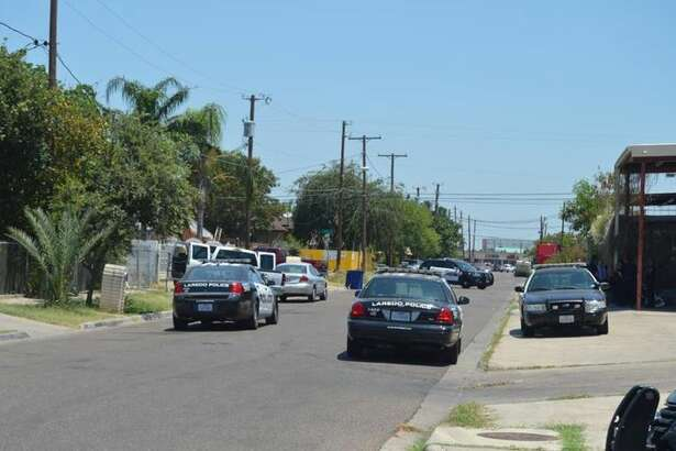 Authorities combed the area after receiving reports of a shot fired Thursday in the intersection of Tacuba Street and San Agustin Avenue.