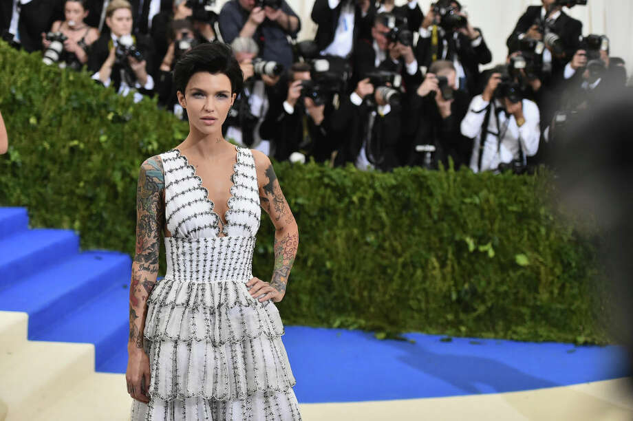 """Ruby Rose attends the """"Rei Kawakubo/Comme des Garcons: Art Of The In-Between"""" Costume Institute Gala at Metropolitan Museum of Art on May 1, 2017 in New York City. Photo: Mike Coppola"""