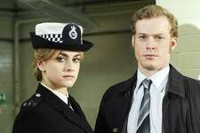"""Stefanie Martini, left, and Sam Reid costar in PBS' rewind of the """"Prime Suspect"""" series. On """"Prime Suspect: Tennison,"""" Martini plays a rookie just learning the ropes in a very sexist environment."""