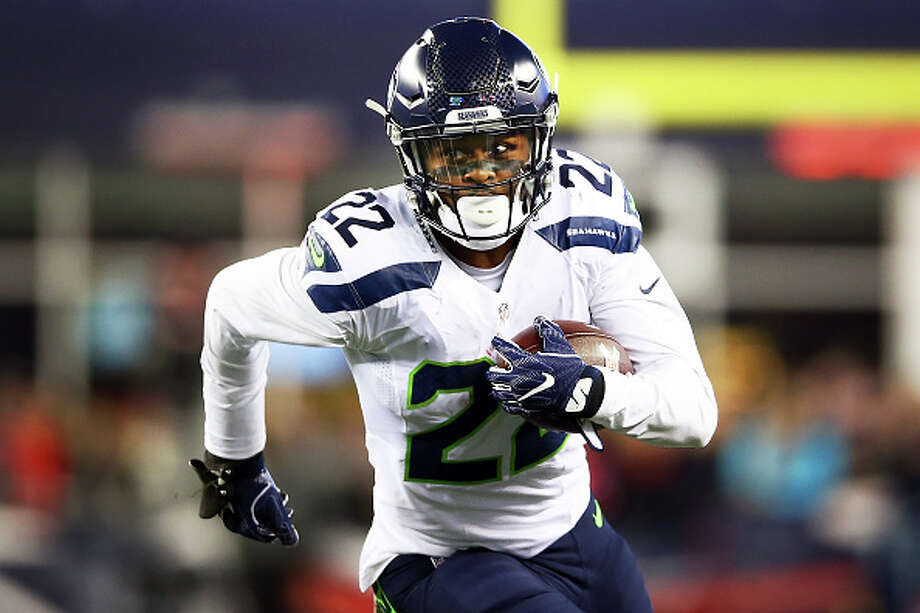 The Seahawks placed running back C.J. Prosise on injured reserve for a second consecutive season. Photo: Adam Glanzman/Getty Images
