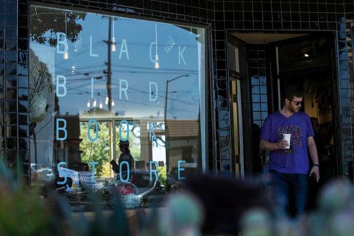 Black Bird Bookstore is just a few blocks from Ocean Beach.