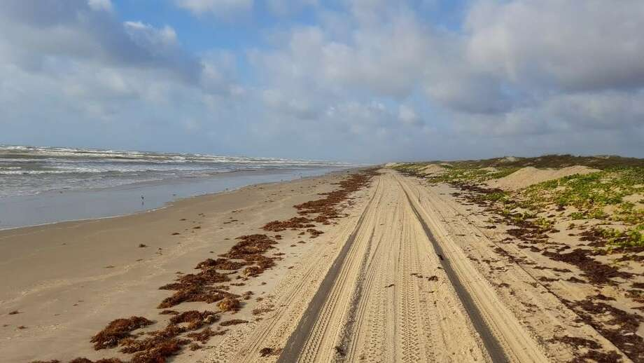 File North And South Beaches On Padre Island National Seas Are Closed To Driving