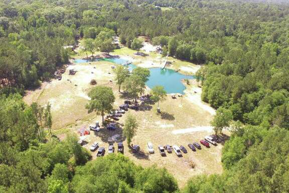 Scenes from Chadillac's Backyard Waterpark, 16038 Crowley Road in Conroe.