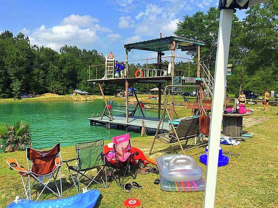 Conroe 'backyard' waterpark turns a swimming hole into a ...
