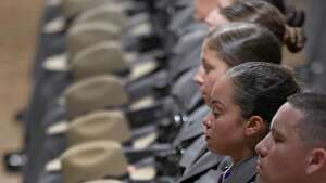 Allegations of improper dealings between training officers and recruits plagued the 226-member Basic School class that graduated in October 2016. Multiple female recruits were counseled but no troopers who were alleged to drink and fraternize with them were disciplined. (Skip Dickstein/Times Union)