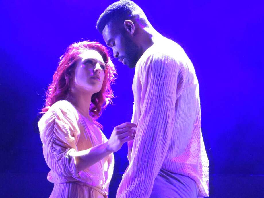 "Sharna Burgess and Keo Motsepe are part of the ""Dancing with the Stars: Live! — Hot Summer Nights"" cast coming to Mohegan Sun Arena Friday, June 30, and Saturday, July 1. Photo: ABC / Faculty / Contributed Photo"