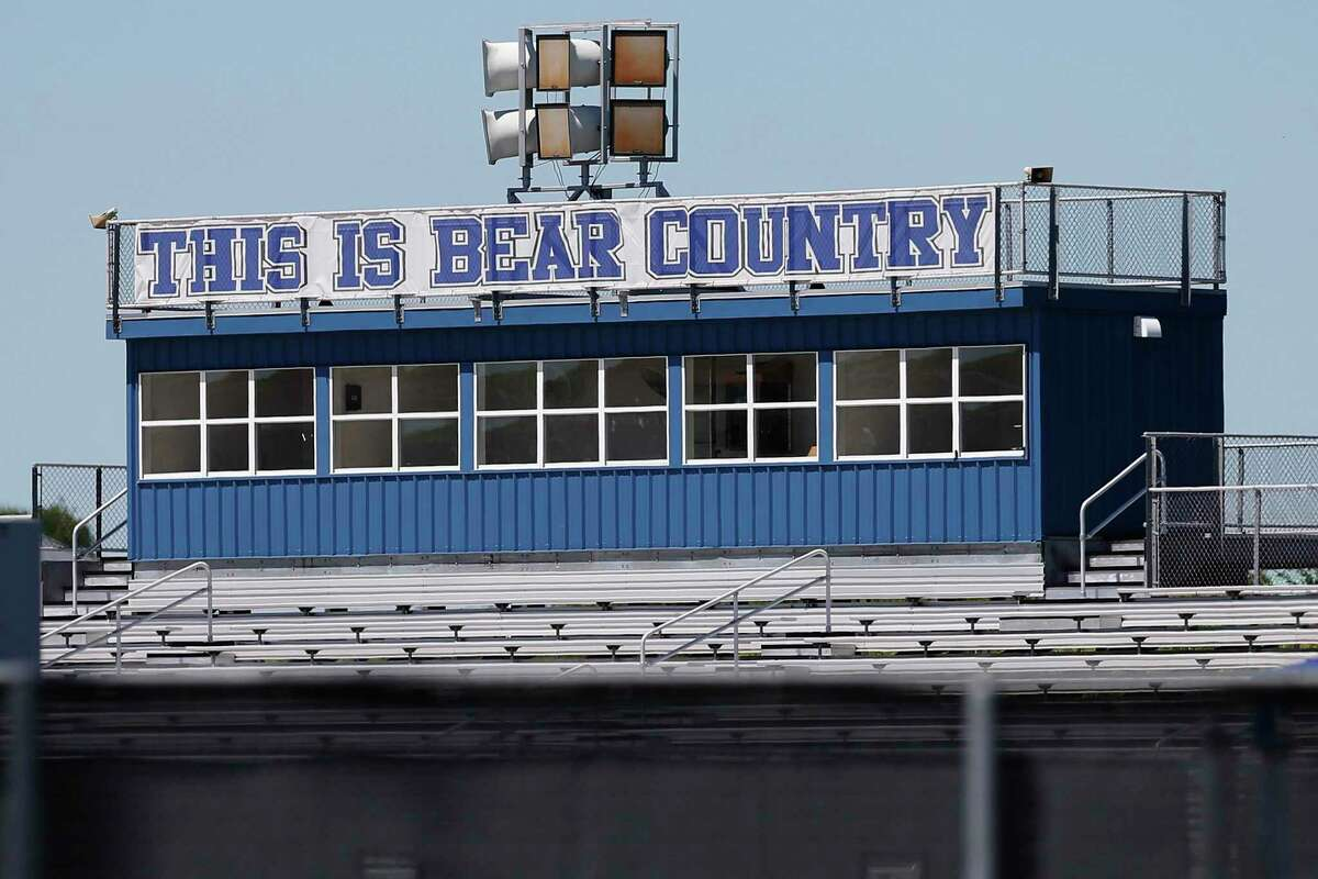 """In the wake multiple arrests in 2017 in a varsity athletics hazing scandal, La Vernia ISD Superintendent Jose H. Moreno urged his staff, administrators and teachers to help students return to normalcy. Those charged were a small percentage of their high school 1,075 enrollment and the """"underground culture of acceptance"""" that led to hazing was not in accordance to the district's core values, he said. Kin Man Hui/San Antonio Express-News)"""