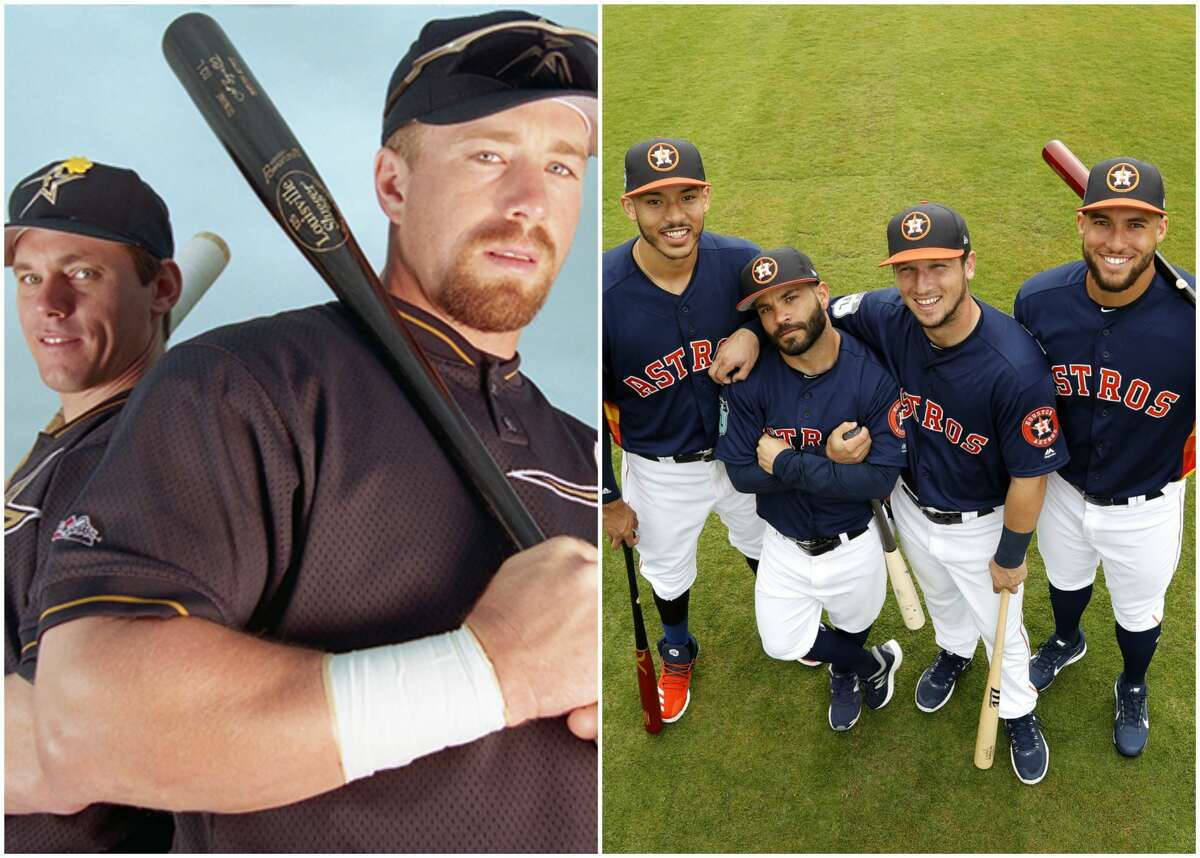PHOTOS: A position-by-position comparison of the 1998 Astros and the current Astros What team was better: The 1998 Astros with Craig Biggio and Jeff Bagwell or the 2017 Astros with Carlos Correa, Jose Altuve, Alex Bregman and George Springer? Browse through the photos above for an in-depth comparison of the current Astros and previous best team in franchise history.