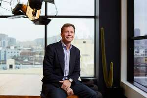 Justin Caldbeck, a partner at venture capital firm Binary Capital, seen in his office on January 18, 2017, in San Francisco, Calif.