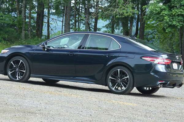 Starting at $34,950, the 2018 V6 XSE is chart-topping model in the 2018 Camry lineup. The 8th-generation Camry's 111.2-inch wheelbase is 1.9 inches longer than the 2017 sedan's.