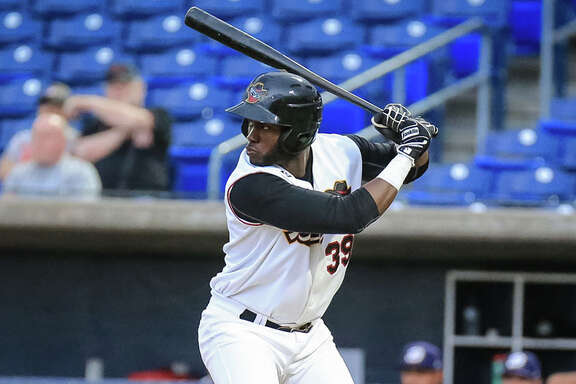 The Astros promoted 19-year-old Yordan Alvarez to Advanced Class A Buies Creek on Friday.