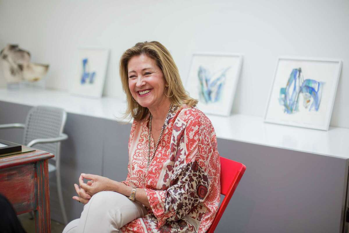 """Valentina Atkinson suggests that customers take their time when picking art because, """"you are going to live with the piece for life."""""""