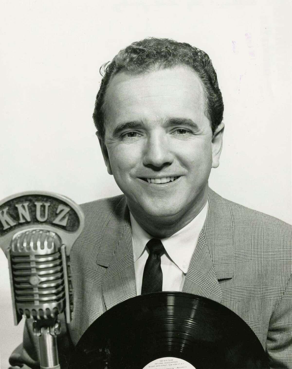 Paul Berlin, KNUZ disk jockey (1964)
